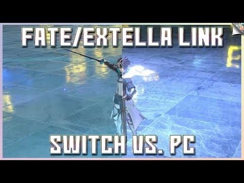 fate/extella-link:-nintendo-switch-vs.-pc-graphics-&-framerate-comparison