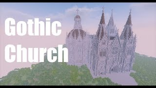 minecraft gothic church