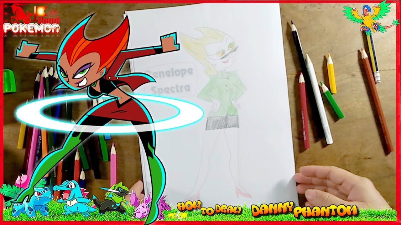 How To Draw Danny Phantom Coloring Pages Penelope Spectra Danny Phantom Coloring Pages