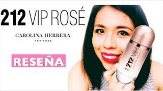 PERFUME 212 VIP ROSE DE CAROLINA HERRERA RESEÑA EN ESPAÑOL