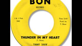 Timmy Shaw - Thunder In My Heart 1962