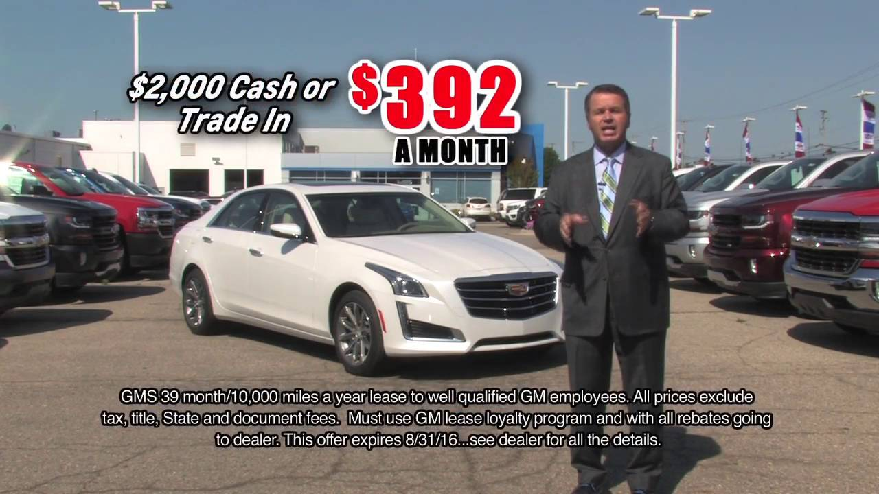 2016 Cadillac CTS from Young Chevrolet Cadillac Owosso - YouTube