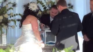 Amanda Finley & Zach Smith Wedding Ceremony - Somerset, KY