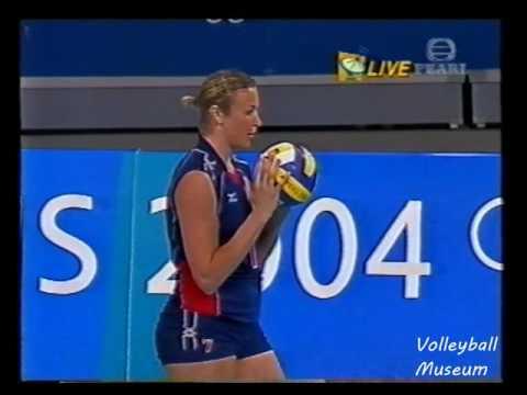 【Women Volleyball】【2004 Olympics】【China vs USA】【Preliminary】