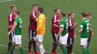1.  FC Nürnberg II  - 1. FC Schweinfurt 05  (Regionalliga Bayern 15/16, 18.  Spieltag)