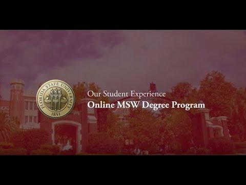 FSU Online MSW Student Testimonials