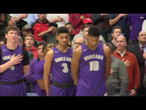 2017 WCAC Boy's Basketball Championship, Gonzaga vs Paul VI, Partial Replay