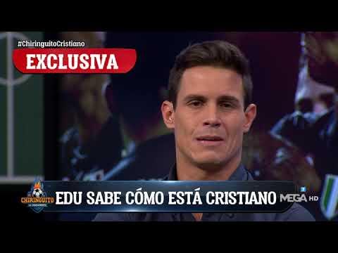 """E. Aguirre: """"Cristiano cree que la expulsión es una de las mayores injusticias de su carrera"""""""