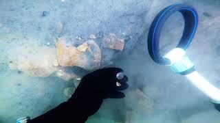 Подводный коп на 4-7 метрах,с выдрой.