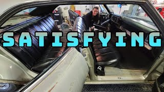 Incredible Results! Buick LeSabre Gets Interior Cleaned Up AND New Wheels (For Goin' Ta Town)