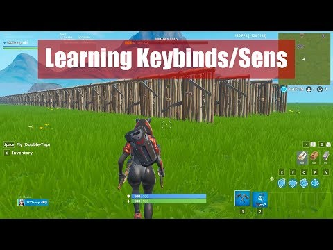 How To Get Used To New Keybinds / Sensitivity (Fortnite)