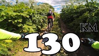 MTB покатушка  133км на велосипеде по лесам и полям  08.07.2017  съемка со стабилизатором