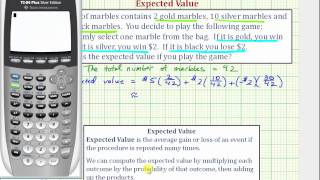 Ex: Expected Value