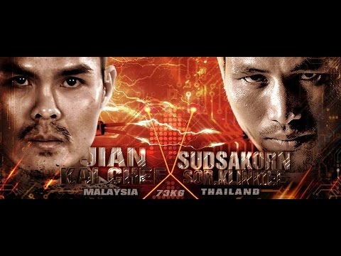 THAI FIGHT KMITL 2016 AUGUST 20 : Sudsakorn Sor.Klinmee - Thailand VS Jian Kai Chee - Malaysia