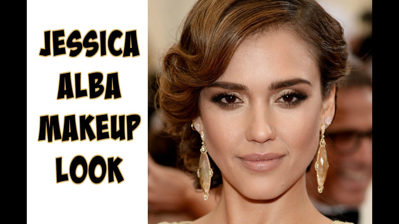 jessica alba inspired makeup look affordable makeup