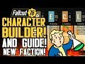 Fallout 76 - Epic Character Builder and Guide! New Faction! Are Factions Coming to Fallout 76?