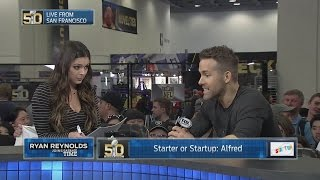 Ryan Reynolds and Katie Nolan Play Starter Or Startup