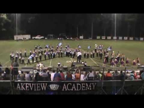 EJCHS Marching Eagles 8-28-15 @ Lakeview Academy