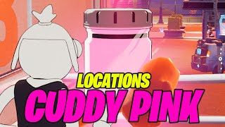 Find Bottles of Cuddly Pink in Steamy Stacks (ALL LOCATIONS) - Fortnite