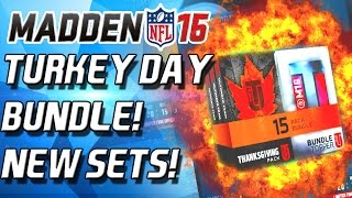 Madden 16 Ultimate Team - TURKEY DAY BUNDLE! CAM NEWTON! - MUT 16