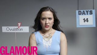 This is Your Period in 2 Minutes | Glamour thumbnail