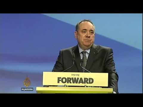Scotland's top official appeals for a 'yes' vote