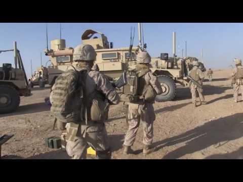 Marines Afghanistan Patrol Base 2014