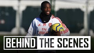 Passing drills & skills | Behind the scenes at Arsenal training centre