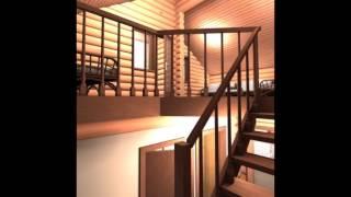 видео Дом из бревна 116.34