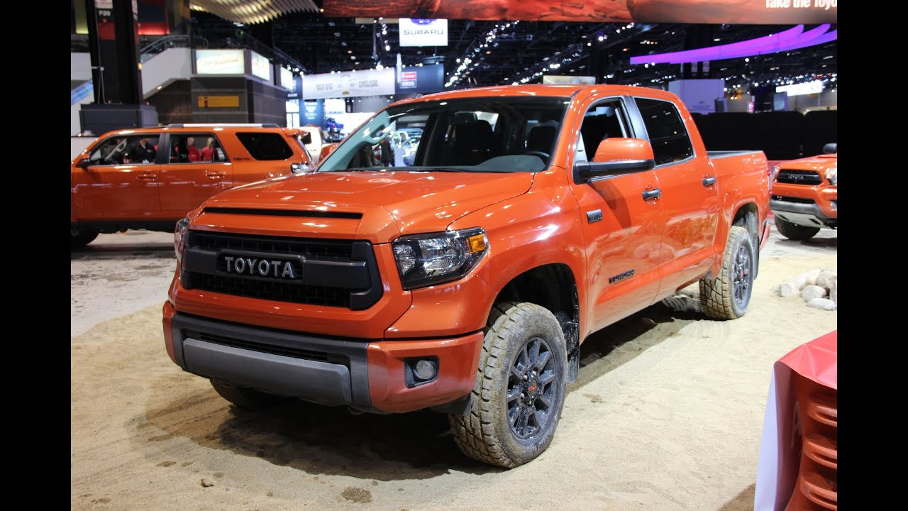 Toyota TRD Pro Series - 2014 Chicago Auto Show - YouTube