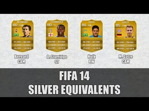 Fifa 14 - Silver Equivalents Ep4 - with FUT Statistic - Ft. Bernard, Gotze and More!