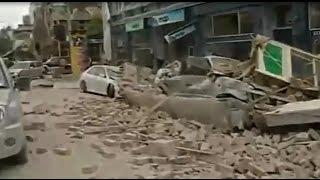 Penampakan Mengerikan Gempa Besar Selandia Baru