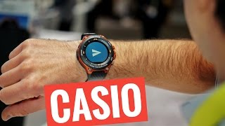 Casio PRO TREK Smart: Android Wear rugged a CES 2017