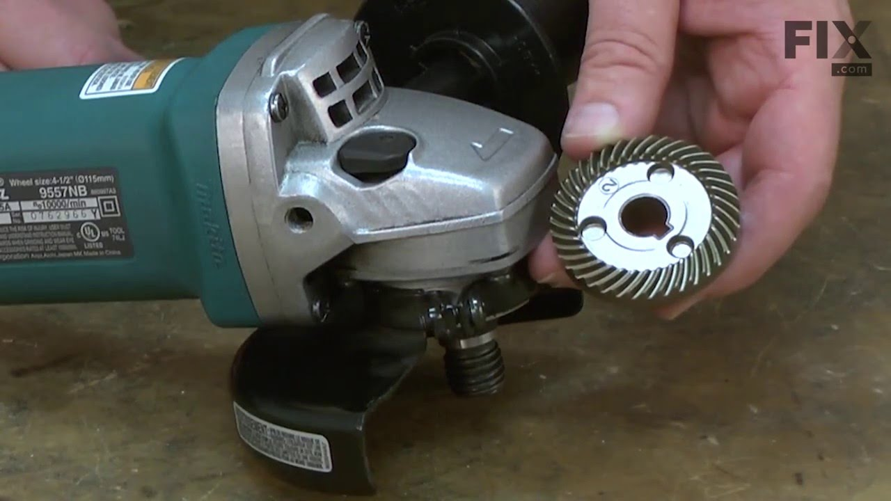 Makita Angle Grinder Repair – How to replace the Gear