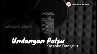 UNDANGAN PALSU - Karaoke dangdut Caca Handika