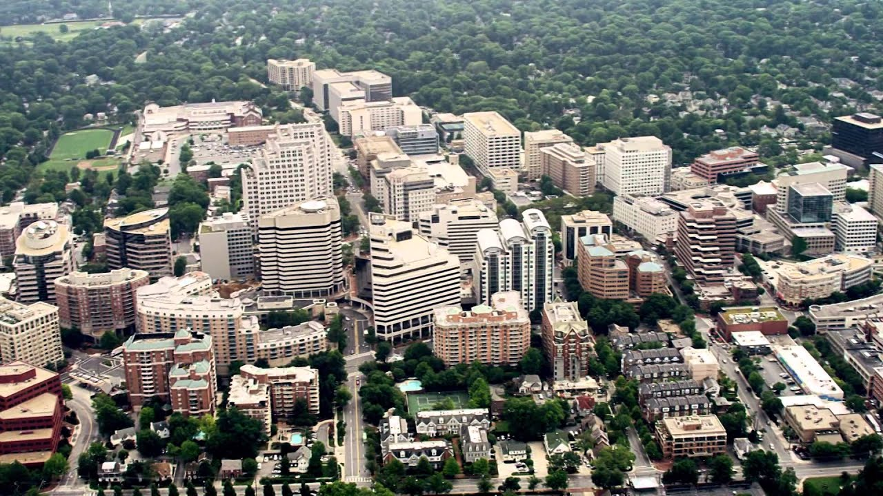 An aerial perspective of bethesda md youtube for Definition of opulance