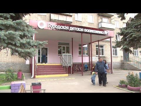В детской поликлинике убрали окна регистратуры