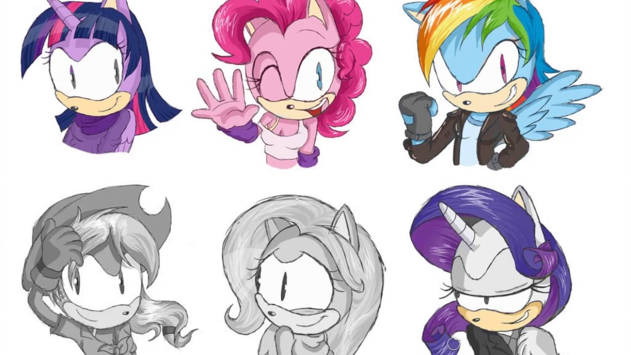My Little Pony Transforms Into Sonic Equestria Girls