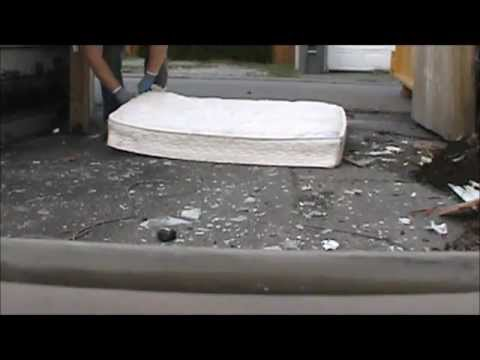 How To Scrap A Mattress Amp Ave Urcharges For Dumping