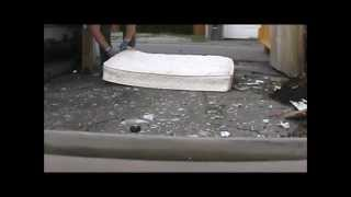 How to scrap a mattress & $ave $urcharges for dumping