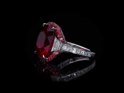 Spinel And Diamond Ring By Martin Katz