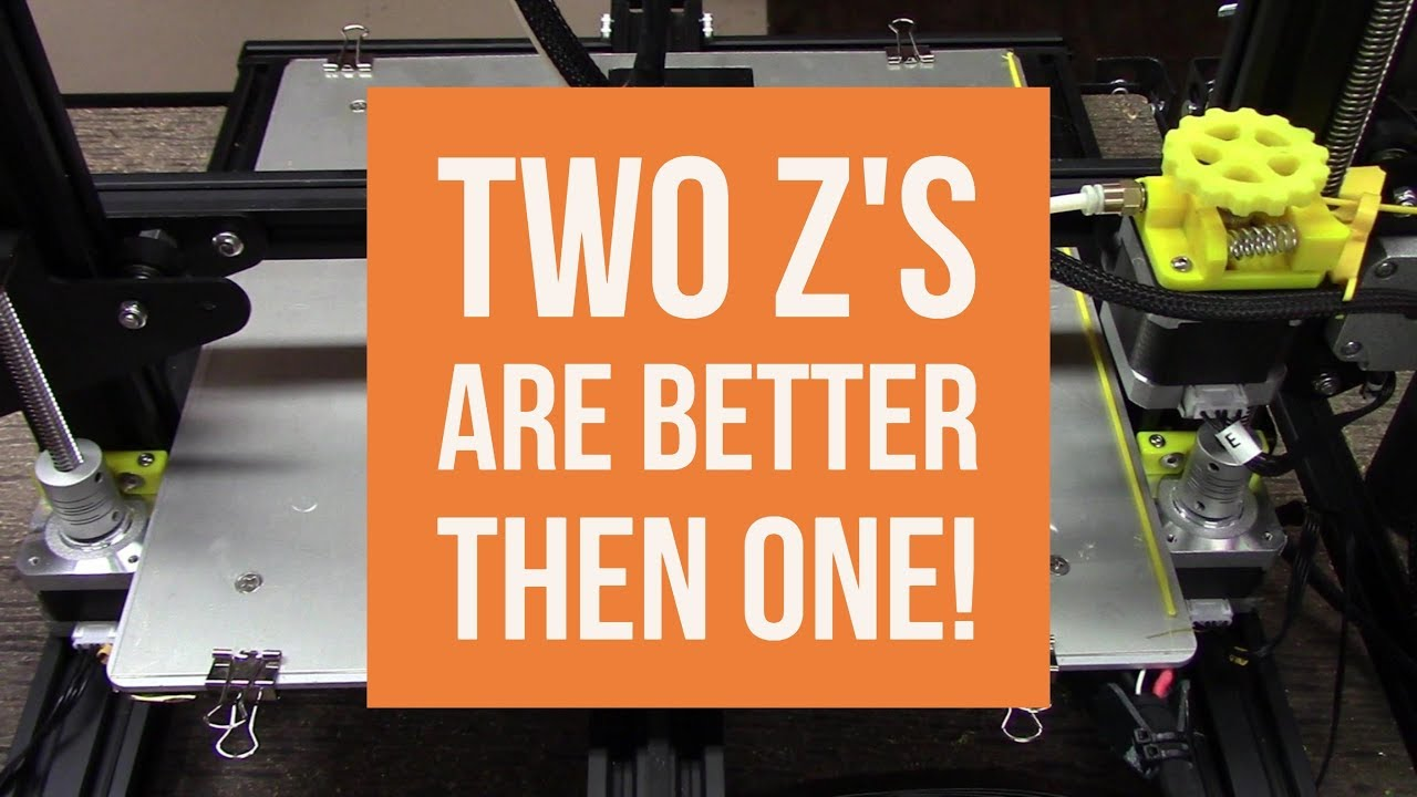 Creality CR10 – Install the Second Z Axis Step by Step