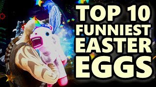 Top 10 Funniest Easter Eggs In Video Games