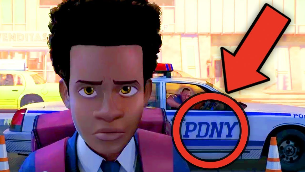 45ce03e2446f3 SPIDER-MAN  INTO THE SPIDER-VERSE Trailer Breakdown!  NewRockstarsNews