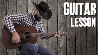Seven Essential Country Strumming Patterns - Guitar Lesson