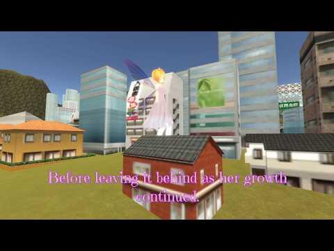 [Sizebox] Giantess Growth - Silvia's Growing Adventure