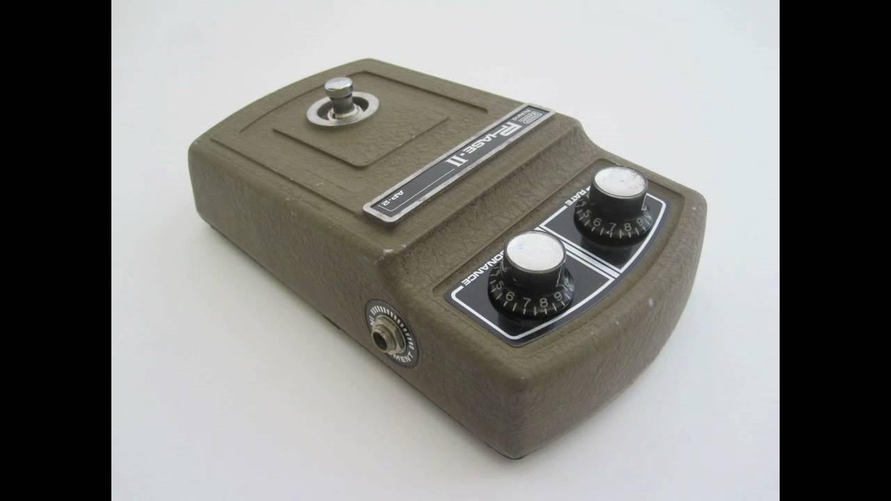 roland phase 2 ii vintage electric guitar pedal audio sample youtube. Black Bedroom Furniture Sets. Home Design Ideas