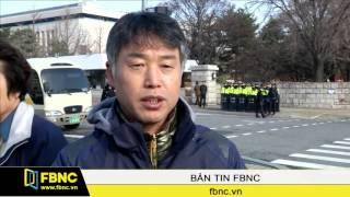 FBNC – Hàn Quốc: Biểu tình phản đối thông qua FTA với Trung Quốc