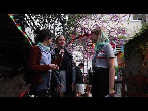 Radio K Chats With Hatchie at SXSW 2018