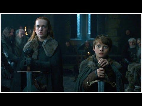 Game of Thrones S7E1 - Umber and Karstark reaffirm their loyalty to House Stark